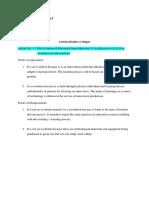 Curriculum Development Assignment No.2
