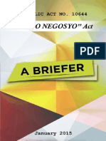 Go Negosyo Act