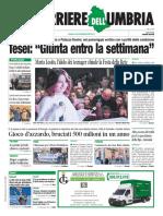 Rassegna stampa dell'11 novembre 2019, prime pagine nazionali e umbre