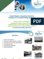 CAPRICE - 3rd Workshop Results Optimise