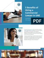 5 Benefits of Hiring a Commercial Lawyer In