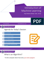 2-Introduction of Machine Learning