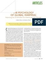 Psychology of Global Warming