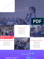 Introducing Your Speech