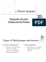 Presentation on Hydraulic Pumps