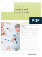 Chapter 5 _ Research and Documentation