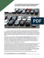 Crowdsourced Smart Parking Market
