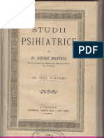 Studii psihiatrice