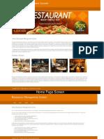 Python, Django and MySQL Project on Restaurant Management System Screens