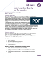 Course Description - Apc Accelerated Learning Quantity Surveying