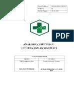 2.1.1.1 ANALISIS KEBUTUHAN PENDIRIAN PKM.doc