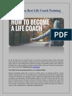 Life Coach Courses