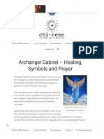 Archangel Gabriel – Healing, Symbols and Prayer