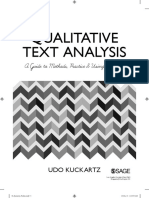 Kuchartz Qualitative Text Analysis