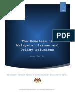 homeless in malaysia