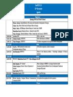 GeoNOG2019 Agenda