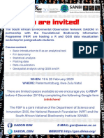 Workshop Invite R-QGIS
