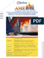 Flamebar Info Sheet