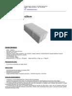 Ficha Tecnica - Paver 20x10cm