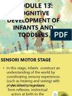Module 13 Cognitive Development of Infants and Toddlers