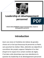 Leadership Et Dveloppementpersonnel