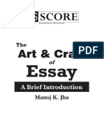The Art Craft of Essay Introduction
