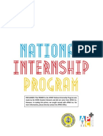 Apmc National Internship Program Primer
