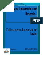 Sandro Bencardino - Allenamento Funzionale Nel Basket