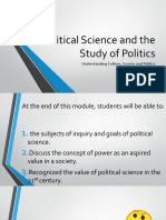 Political Science and the Study of Politics
