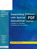 Maria Halliwell-Supporting Children With Special Educational Needs_ a Guide for Assistants in Schools and Pre-schools (2004)
