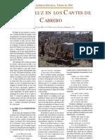 Lo Andaluz en Los Cantes de EL CABRERO