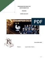 Programacion Frances 2018-2019