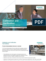 Calibration and Verification En