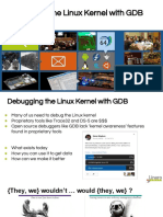 Debugging the Linux Kernel With GDB