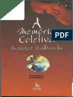 A MEMORIA COLETIVA, CAPITULO 1 - MAURICE