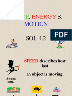 Force Energy Motion