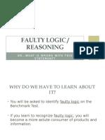 Faulty Logic Student
