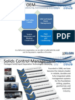 Solids Control Services - ELGIN