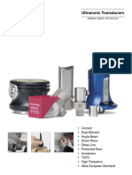 Ultrasonic Testing Probes Brochure
