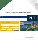 Booking Com Business Model Canvas eBook