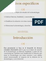 Tarea I Deontología Juridica