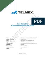 Guía AudioCodes Mediant 600 - 1000 v1.1