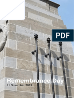 Remembrance Program 2019