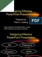 effective powerpoint design