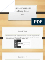 The Drawing and Editing Tools