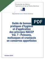 Vol 7 Conserves Maroc GBPH HACCP Octobre 2010.VF.11