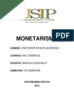 Monetarism o 1