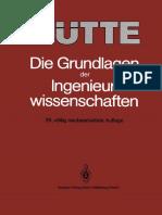 (Hütte) P. Ruge, M. Wermuth (auth.), Professor Dr.-Ing. Horst Czichos, Dipl.-Ing. Ulrich Kluge (eds.)-Hütte_ Die Grundlagen der Ingenieurwissenschaften-Springer Berlin Heidelberg (1991) (1).pdf