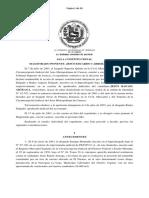 Sala Constitucional Sentencia 28 de Abril de 2005 Expediente Nro. 03-1824