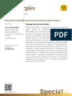Energy Environment Economy Interrelations